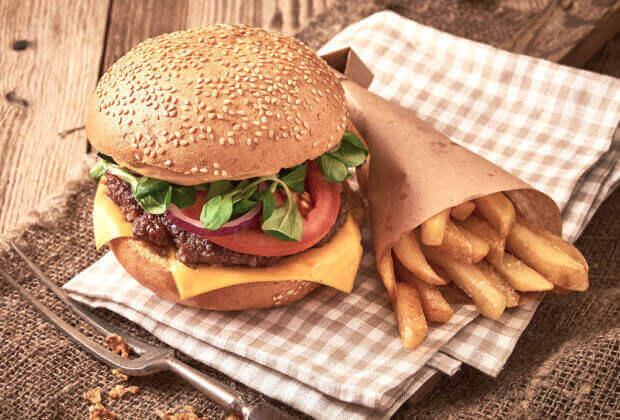 Burger im Goldenen Rössl!